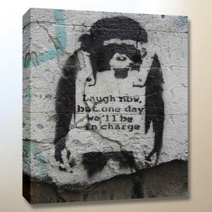 professionally Framed art print with mount Banksy Cheating Street Art