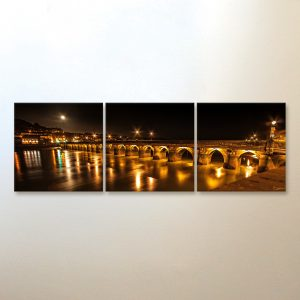 Triptych Canvas Wall Art - Square
